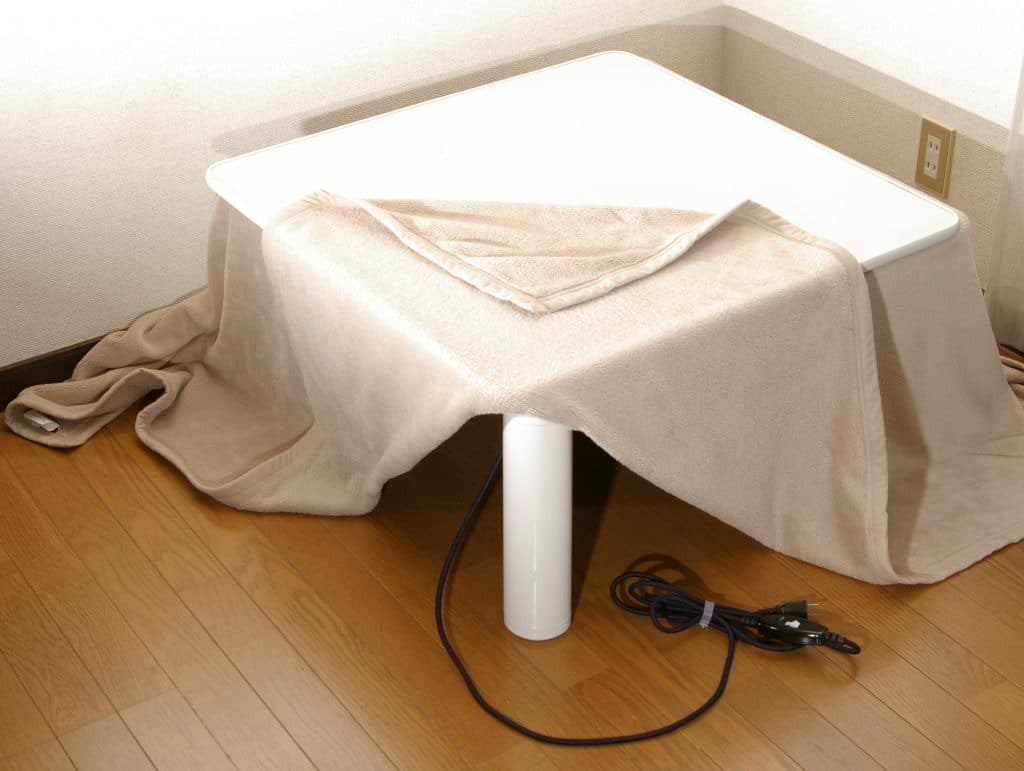 What are the Safety Precautions When Using a Kotatsu? 4