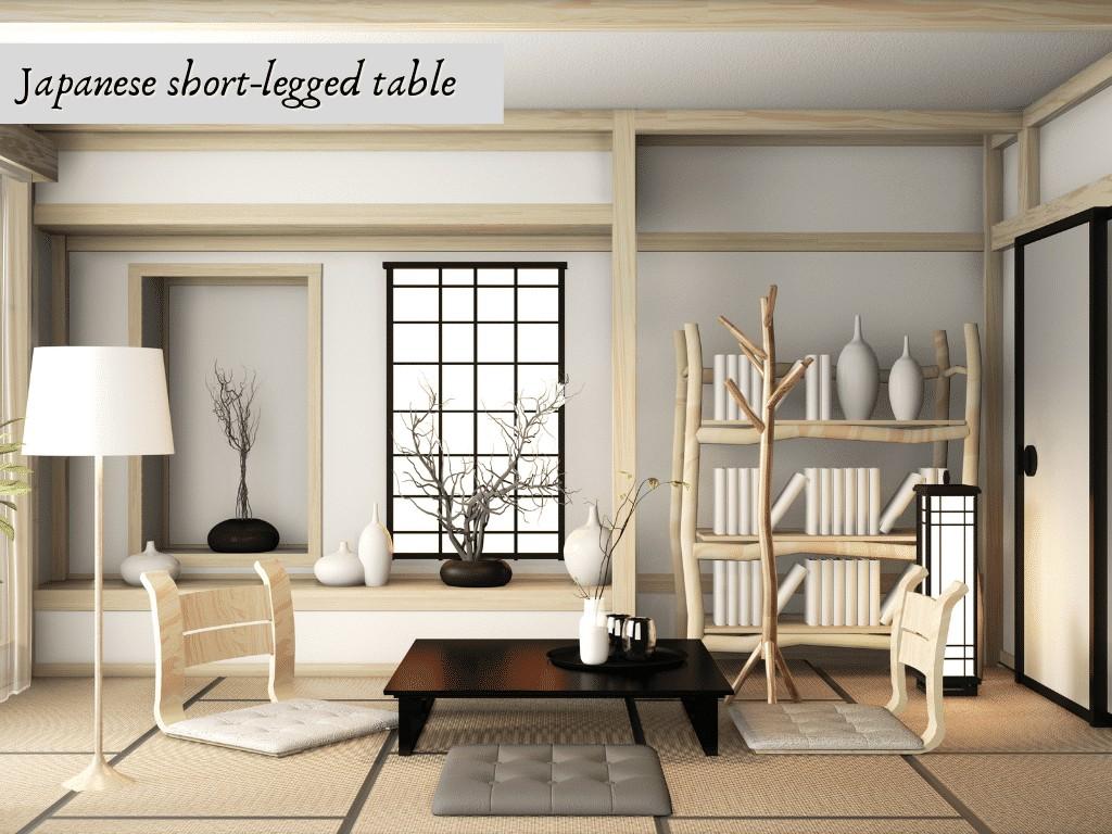 japanese short legged table
