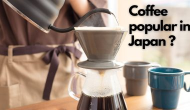 When did coffee become popular in Japan? 1