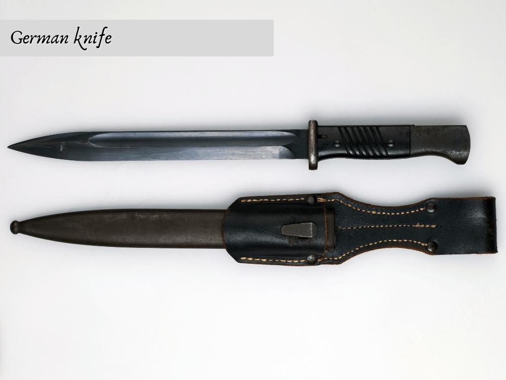 Comparison: Japanese Knife vs. German Knife 1