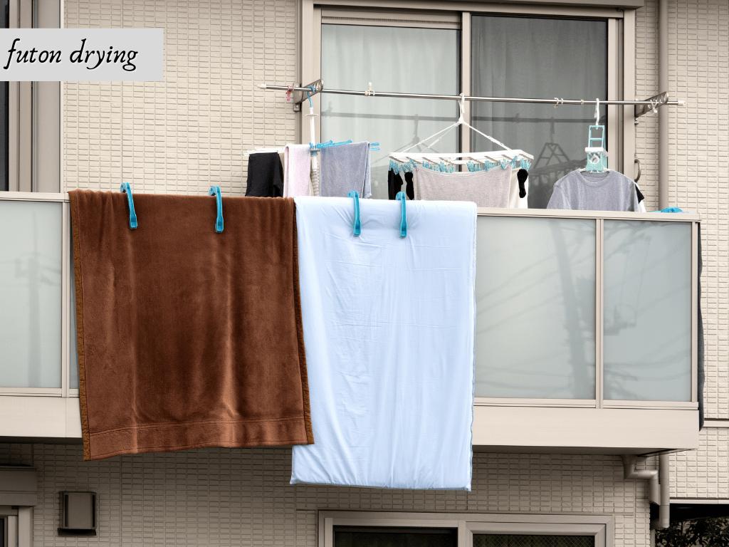 futon drying