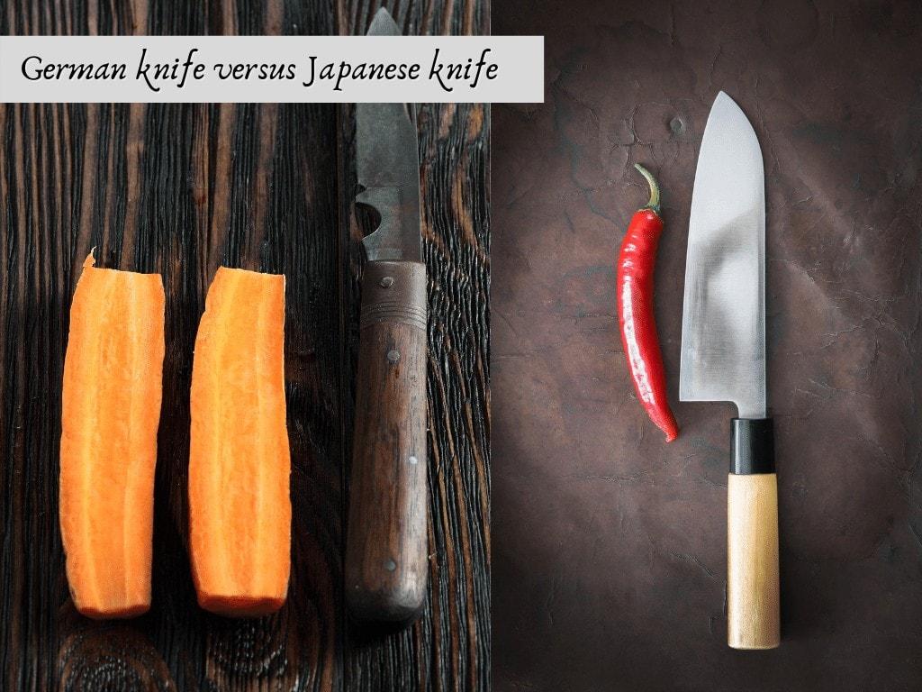 german knife vs japanese knife