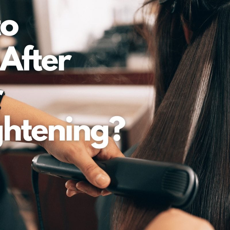 How to sleep after a hair straightening