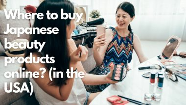Where to buy Japanese beauty products online (in the USA)